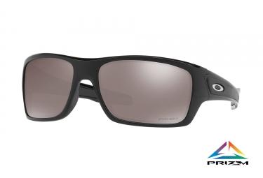 paire de lunettes oakley 2017 turbine polished black prizm black polarized ref oo926