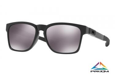 paire de lunettes oakley 2017 catalyst polidhed black prizm black ref oo9272 24
