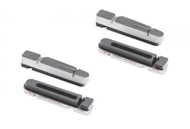 x4 cartouches de patins de freins bbb carbstop pour jante carbone shimano