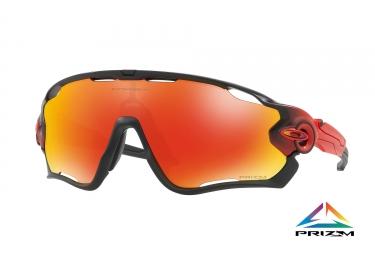 paire de lunettes oakley 2017 jawbreaker ruby fade prizm ruby ref oo9290 23