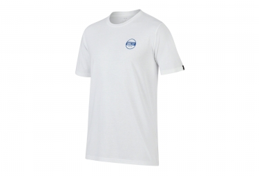 t shirt oakley tri double rounds blanc