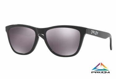 paire de lunettes oakley 2017 frogskins polished black prizm black ref oo9013 c4