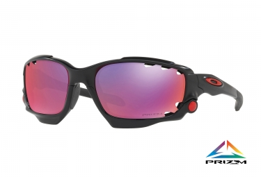 paire de lunettes oakley 2017 racing jacket matte black prizm road ref oo9171 37