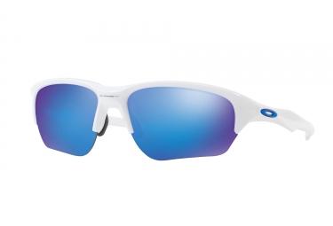 paire de lunettes oakley 2017 flak beta polished white sapphire iridium ref oo9363 03