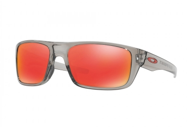 paire de lunettes oakley 2017 drop point grey ink ruby iridium ref oo9367 03