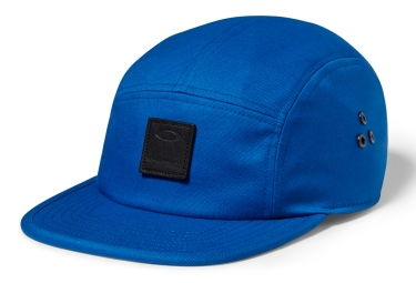 casquette oakley latch 5 panel lx bleu