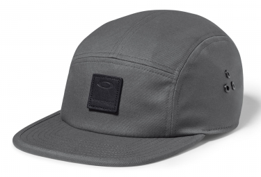 casquette oakley latch 5 panel lx gris