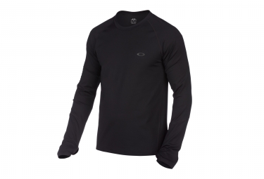 maillot manches longues oakley warm zone noir