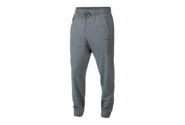 pantalon oakley focus fleece gris
