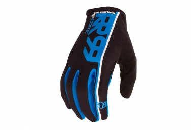 gants longs royal core bleu noir