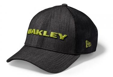 casquette oakley heather snapback noir vert