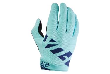 gants longs femme fox ripley bleu