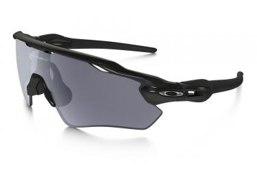 paire de lunettes oakley 2017 radar ev path polished black grey ref oo9208 15