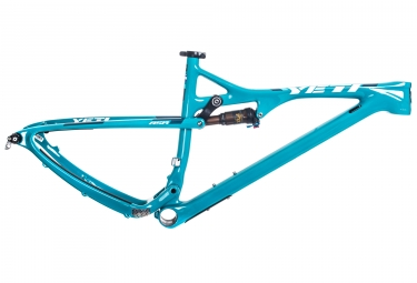 kit cadre yeti asr turq series 29 turquoise amortisseur fox float factory