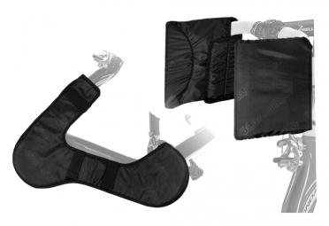 protection des leviers et base pour velo de route sci con noir