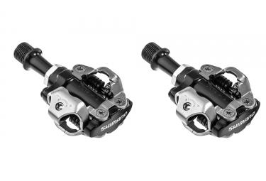 shimano paire de pedales spd pd m540 noir