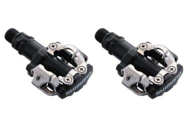 shimano paire de pedales pd m520 noir