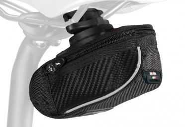 sacoche de selle sci con compact 430 rl 2 1 carbone noir