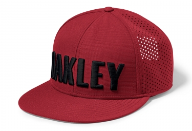 casquette oakley perf snapback rouge
