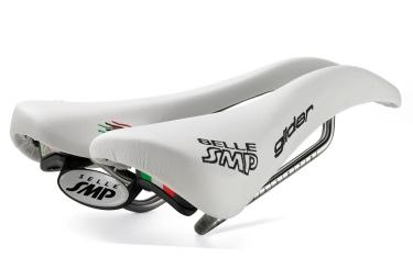 smp selle glider rails inox blanc