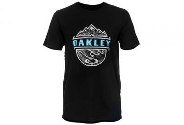 t shirt oakley bicoastal too noir