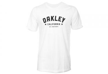 t shirt oakley 50 50 blanc