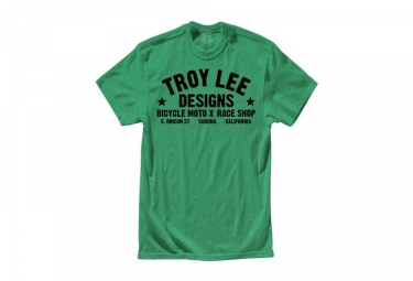 t shirt enfant troy lee designs raceshop vert
