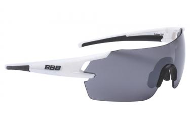 paire de lunettes bbb fullview blanc smoke