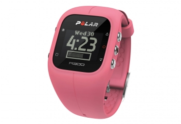 polar montre a300 rose
