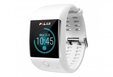 montre de sport connecte polar m600 blanc