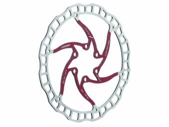 disque de frein ashima aro 08 rouge
