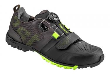 chaussures vtt suplest offroad pro noir jaune fluo