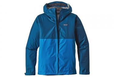 veste impermeable patagonia torrentshell bleu