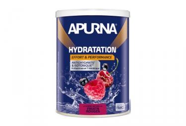 apurna boisson energetique fruits rouges pot 500g
