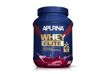 apurna boisson proteinee whey elite isolat fruits rouges 750g