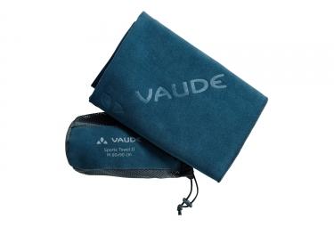 serviette de bain vaude towel ii bleu