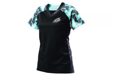 troy lee designs maillot femme skyline noir