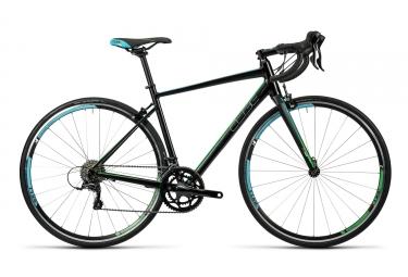 velo de route femme cube 2016 axial wls pro shimano sora 9v noir bleu vert