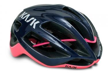 casque kask protone bleu rose
