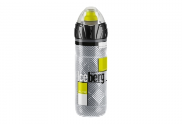 bidon elite iceberg thermo jaune gris 500ml
