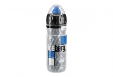 bidon elite iceberg thermo bleu gris 500ml