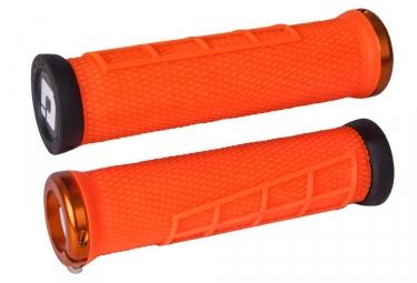 poignees odi elite flow orange lock on orange