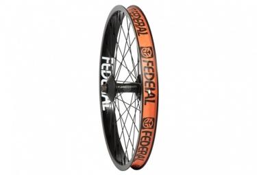 roue avant federal stance xl noir avec hubguard