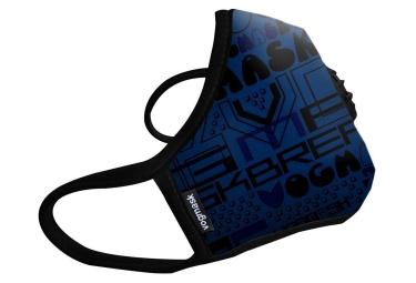 masque anti pollution vogmask n99cv cobalt bleu
