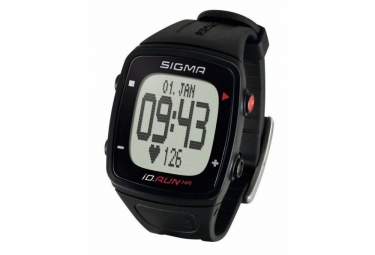 montre gps sigma id run hr noir