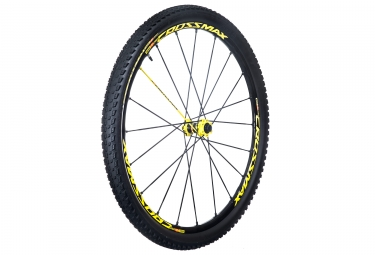 mavic 2016 roue avant crossmax sl pro ltd 29 axes 15x100mm 9x100mm pneu crossmax pul