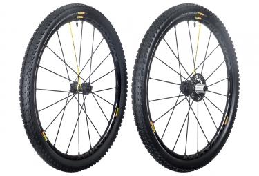 mavic 2016 crossmax sl pro noir paire de roues 27 5 6tr 15mm 12x135mm pneu pulse 2 10