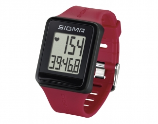 montre gps sigma id go rouge