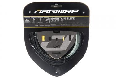 kit cable et gaine vtt jagwire mountain elite link pour derailleur limited edition n