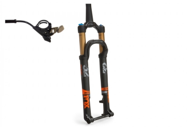 fourche fox racing shox 32 float sc factory fit4 remote 29 kabolt 15mm 2017 noir